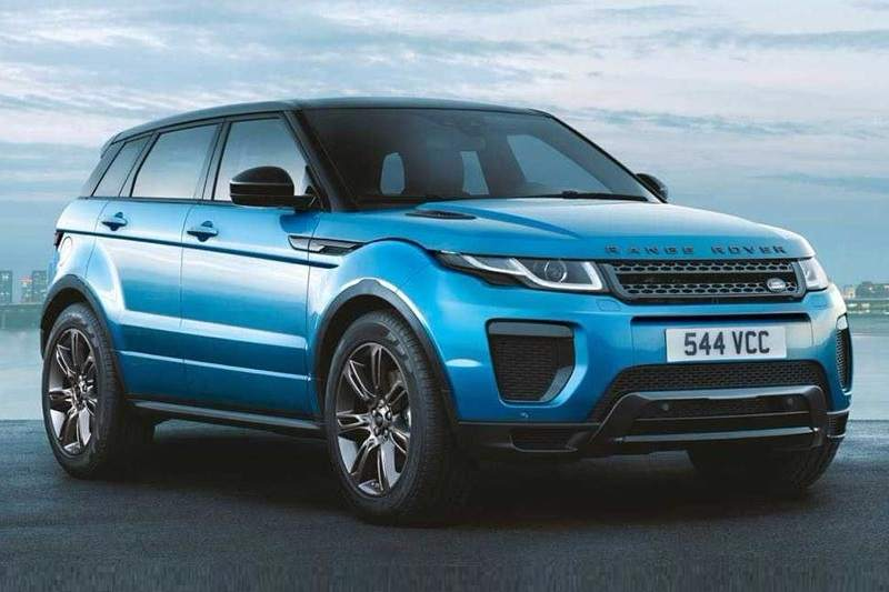 2018 range rover evoque landmark edition price specs features. Black Bedroom Furniture Sets. Home Design Ideas