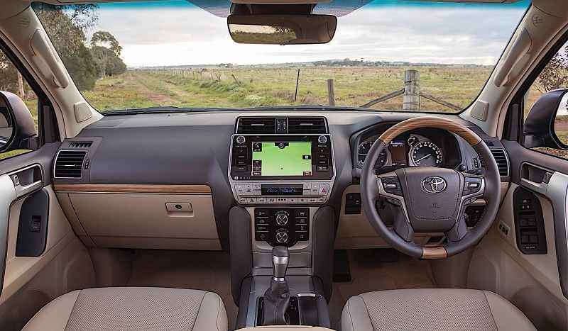2018 Toyota Land Cruiser India Interior