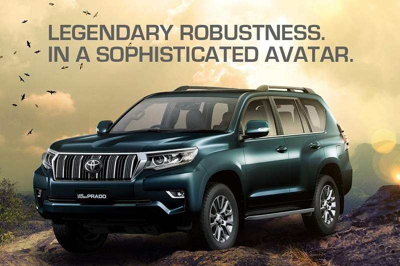 2018 Toyota Land Cruiser Prado Price in India
