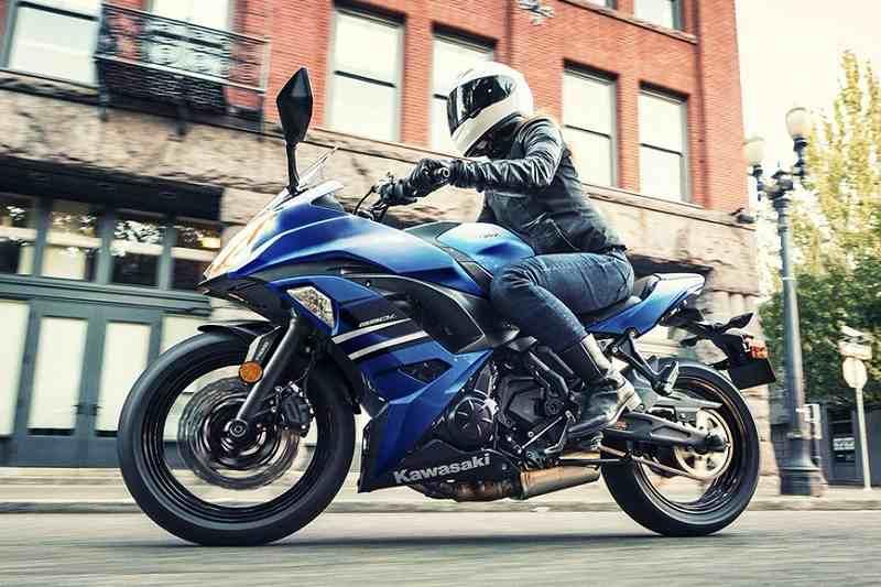 Kawasaki Ninja 650 ABS Blue Colour