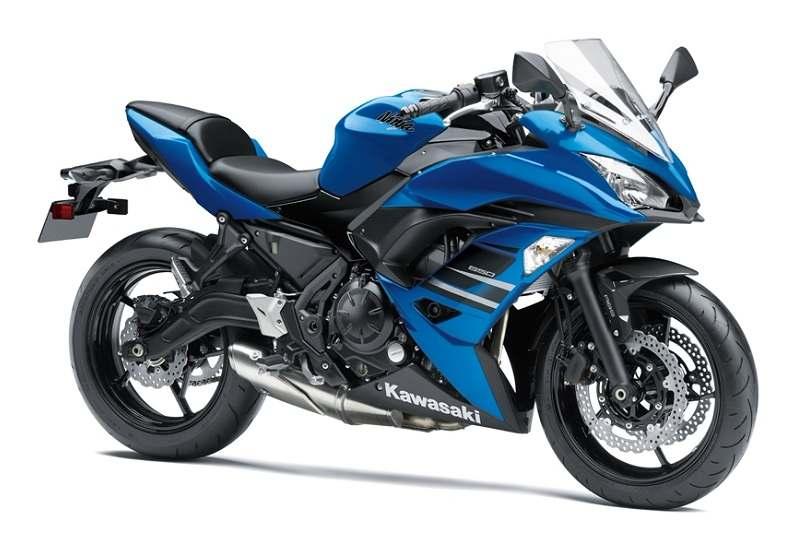 Kawasaki Ninja 650 ABS Blue Variant