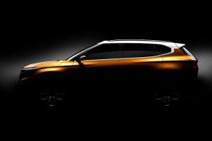 Kia SP SUV Concept Teaser