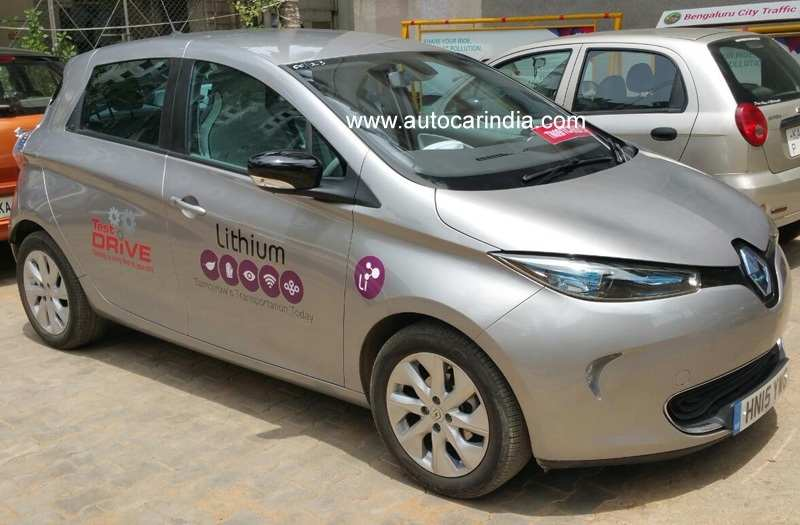 Renault Zoe spied in India