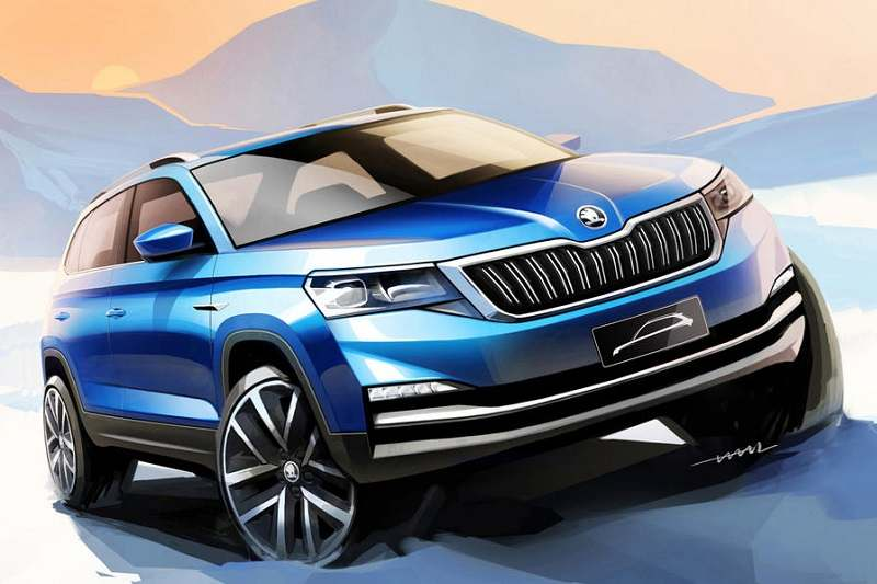 skoda kamiq india launch price specifications features interior. Black Bedroom Furniture Sets. Home Design Ideas