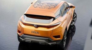 Tata H5X SUV Wallpaper