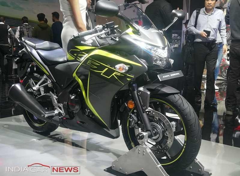 2018 Honda CBR250R Price in India