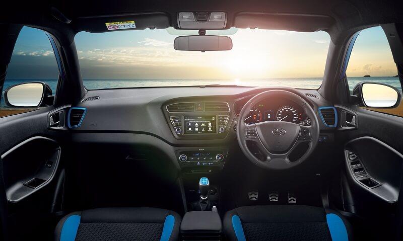 2018 Hyundai i20 Active Facelift Interior
