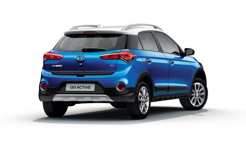 2018 Hyundai i20 Active Facelift Rear