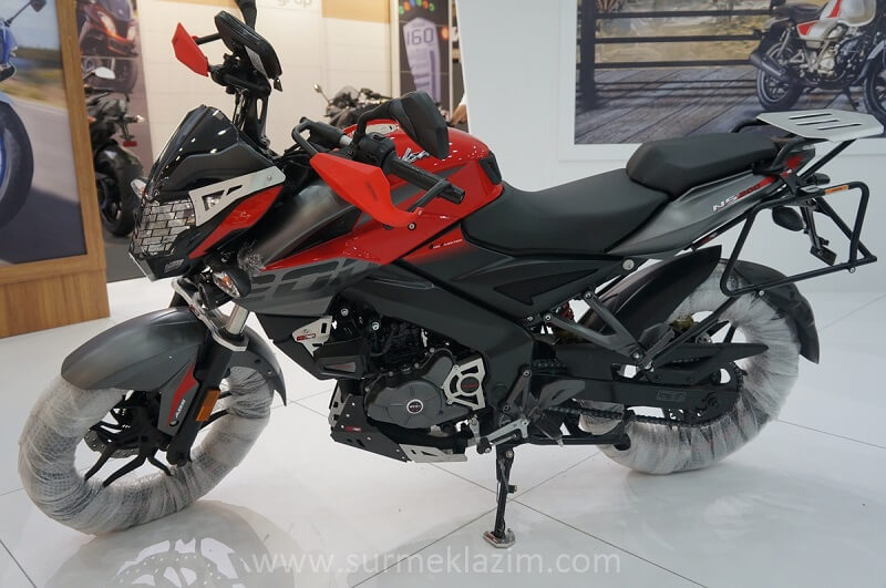 Bajaj Pulsar 200 NS Adventure Edition Side