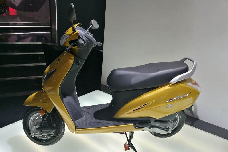 Honda Activa 5G Unveiled Side