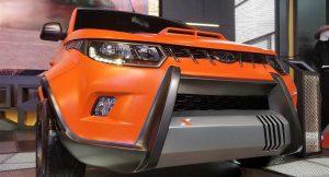 Mahindra KUV100 Xtreme Front