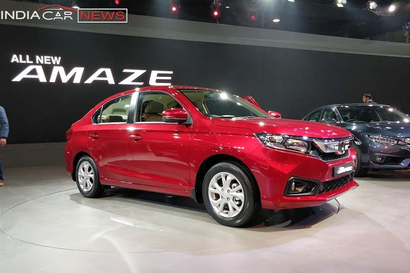 New Honda Amaze Alloys