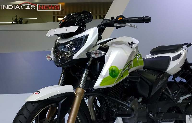 TVS Apache RTR200 Fi Ethanol Price in India
