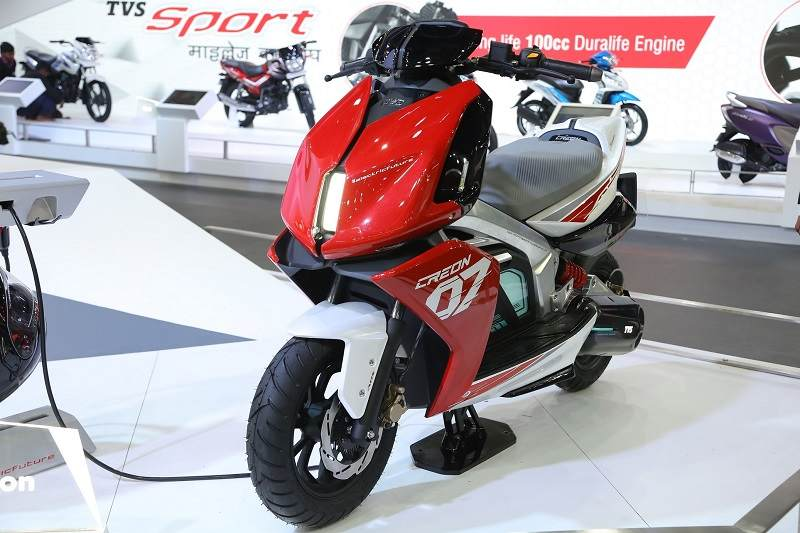 Tvs Creon Electric Scooter Launch Price Range Top Speed