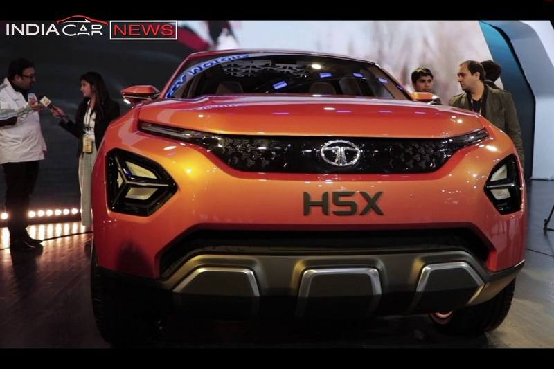 Tata H5X SUV Video