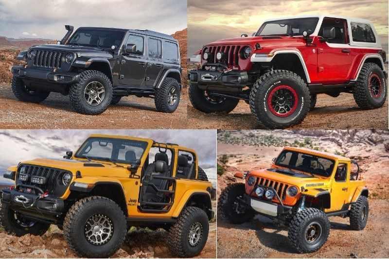 2018 Jeep Easter Safari Concepts