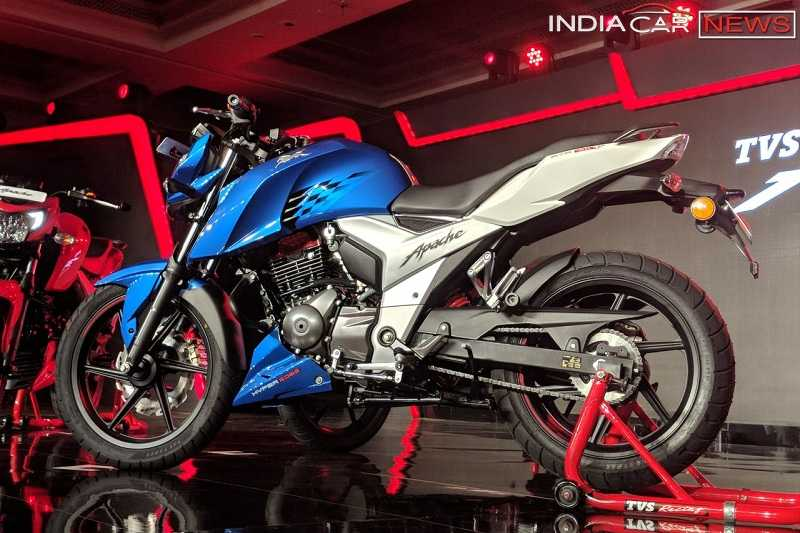 new tvs apache rtr 160 launched � 5 things you need to know