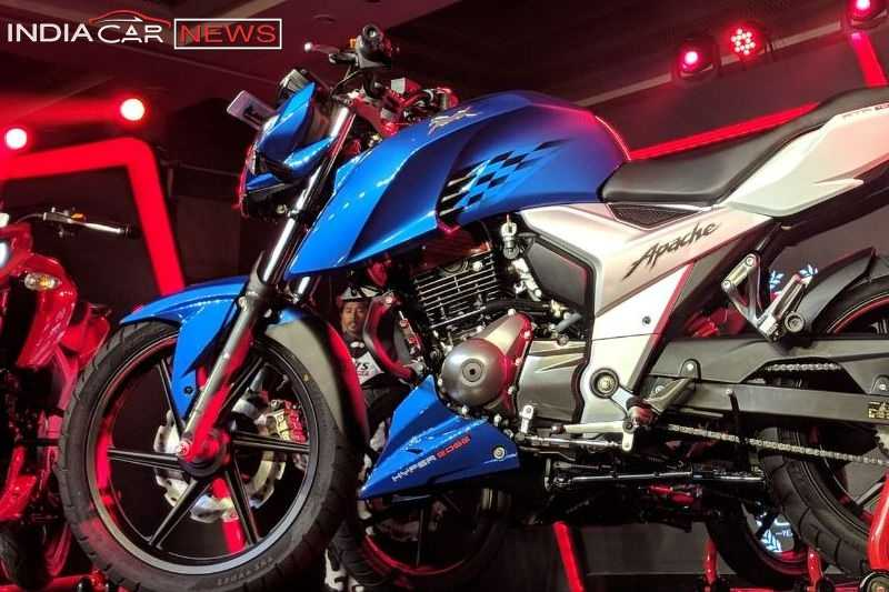new 2018 tvs apache rtr 160 price specifications mileage