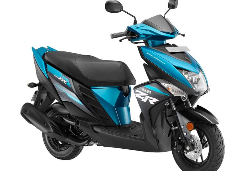 2018 Yamaha Cygnus Ray-ZR Blue