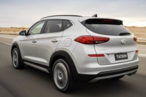 2019 Hyundai Tucson Specifications