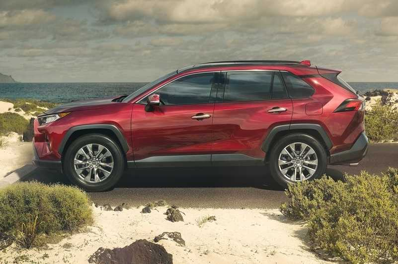 2019 Toyota RAV4 Unveiled Side Profile