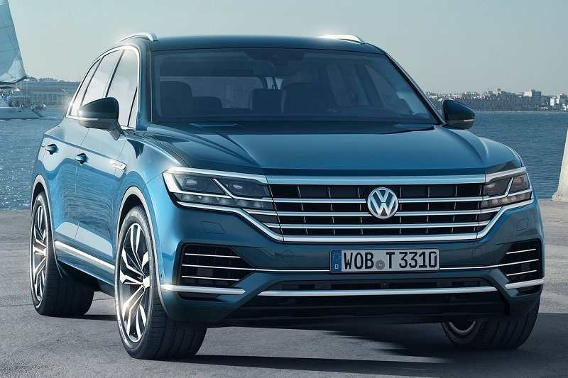 2019 Volkswagen Touareg India Launch