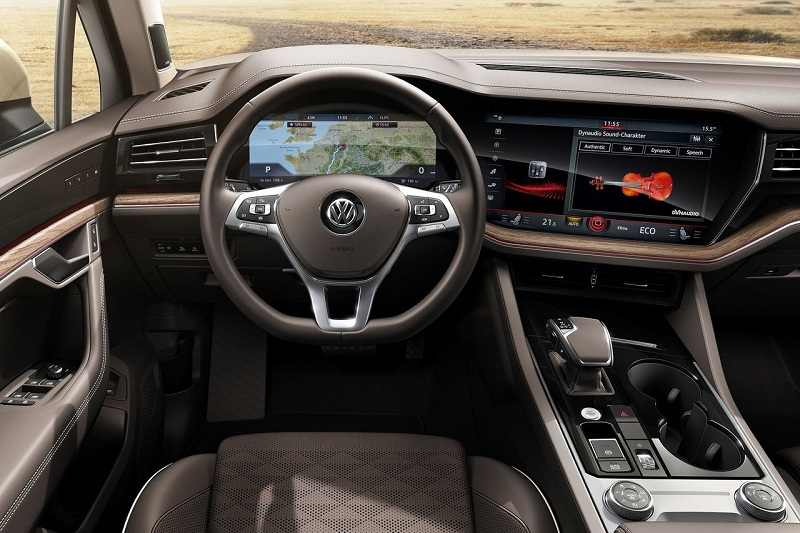 2019 Volkswagen Touareg Interior India Car News