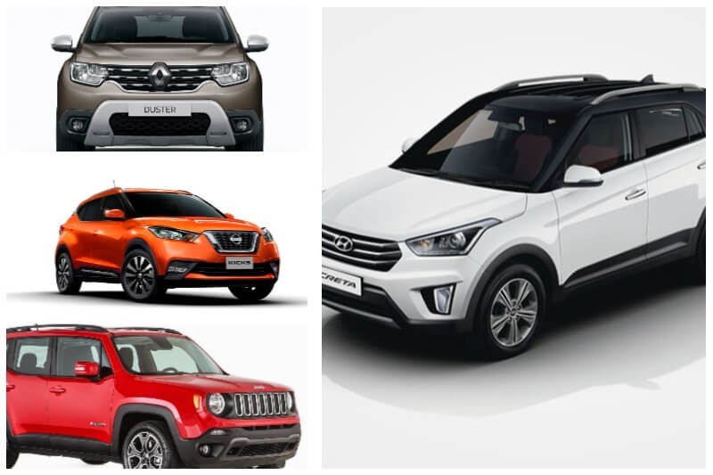 5 Hyundai Creta Rivals