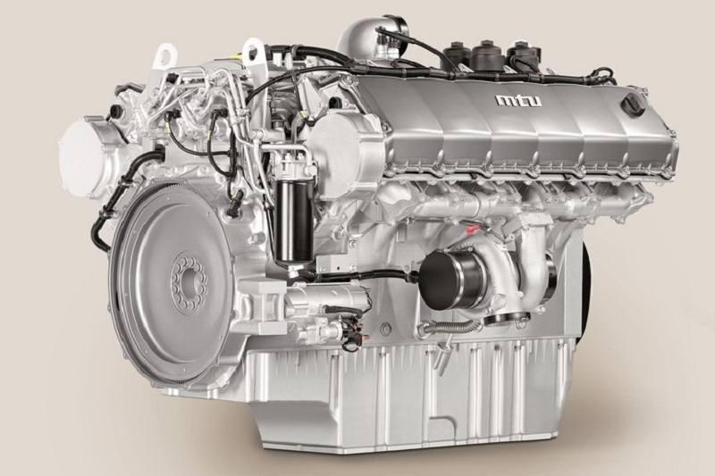 Force Motors 6 Series 1600 engine