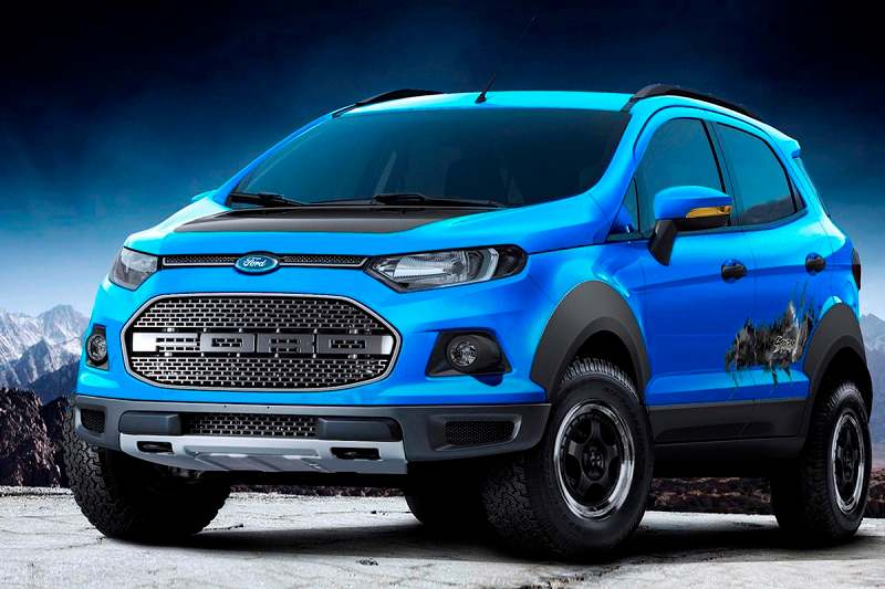 All-New Ford EcoSport In The Works - Pictures Inside