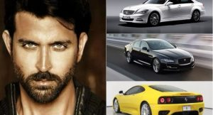 Hrithik Roshan Cars Collection