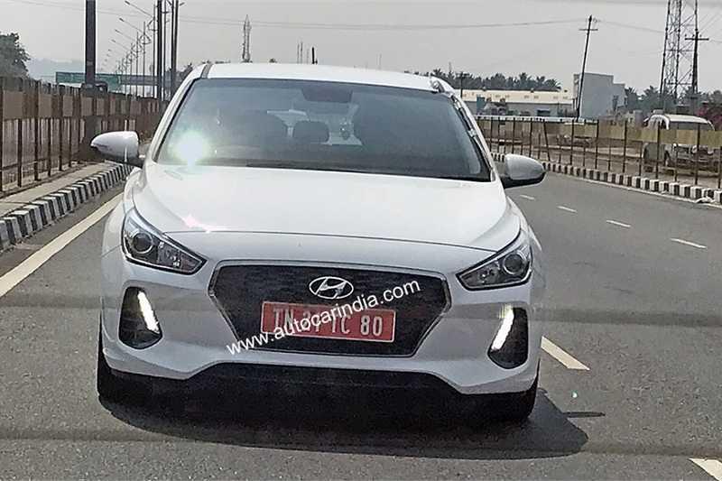 Hyundai i30 Spied India 3