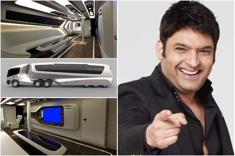 Kapil Sharma S New Vanity Van Is Way Modern Than Shahrukh
