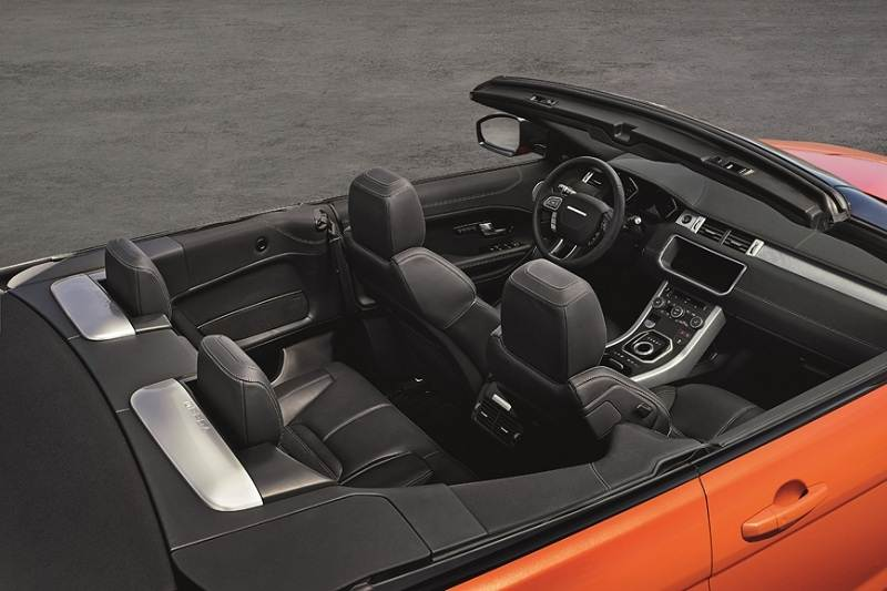 Range Rover Evoque Convertible India Details