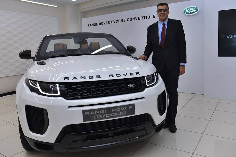 Range Rover Evoque Convertible India Price