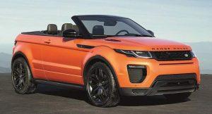 Range Rover Evoque Convertible India Specifications