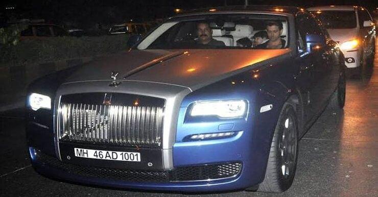 Rolls Royce Ghost Series II Hrithik Roshan