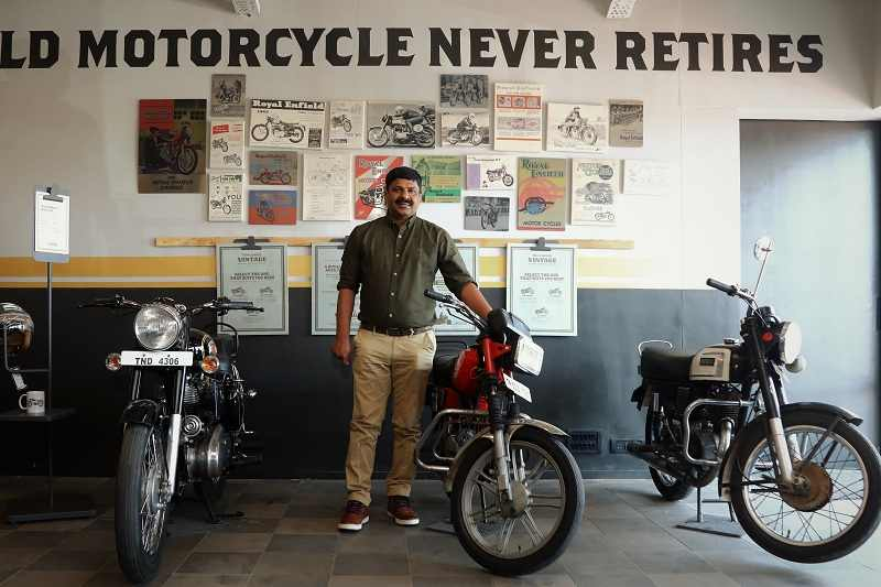 Royal Enfield Pre-owned motorcycle