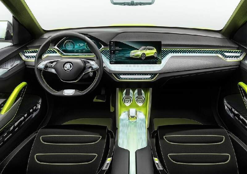 Interior Details Of Skoda's New Small SUV Revealed