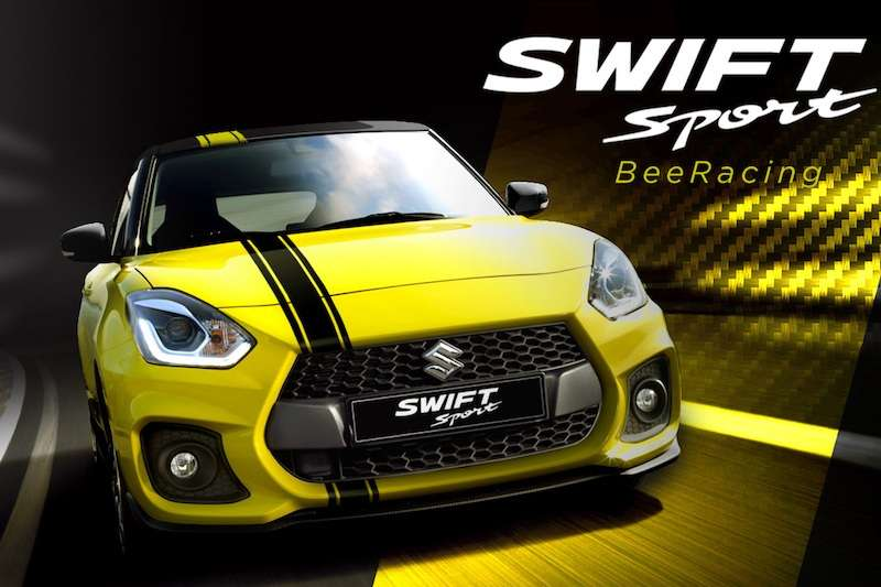 Suzuki Swift Sport Beeracing 1