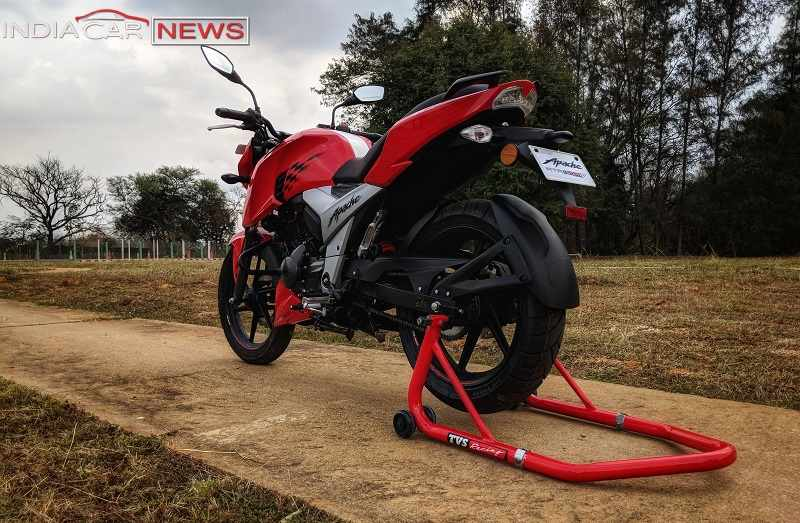 TVS Apache RTR 160 Review Design