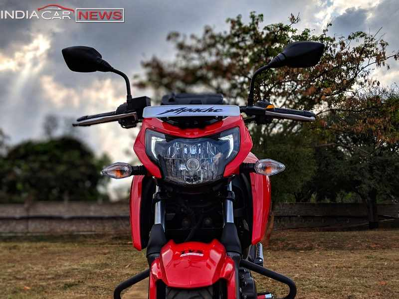 TVS Apache RTR 160 Review Features