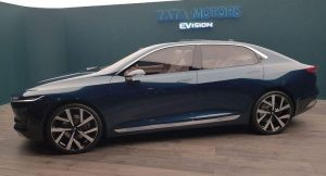 Tata E-Vision Sedan Concept