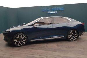 Tata EVision Sedan Concept