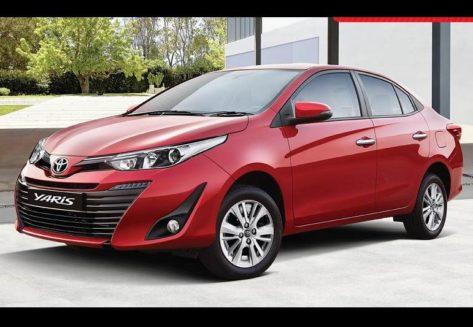 Toyota Yaris Sedan Features