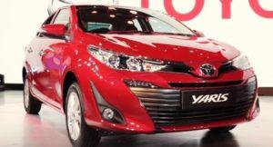 Toyota Yaris Sedan India