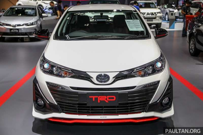 Toyota Yaris TRD Front