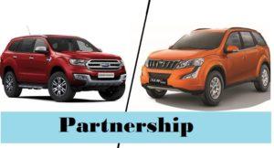 mahindra ford partnership india