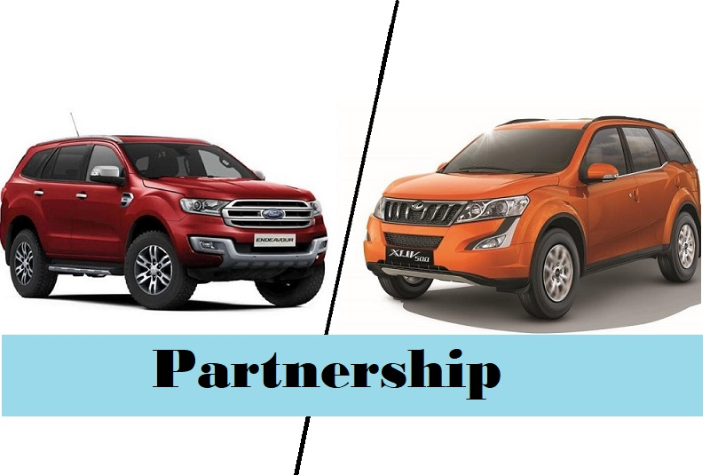 mahindra ford partnership india