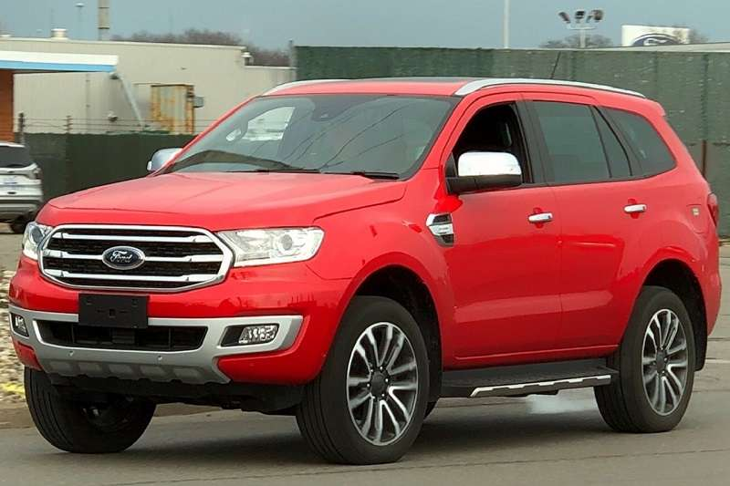 2018 Ford Endeavour India Launch